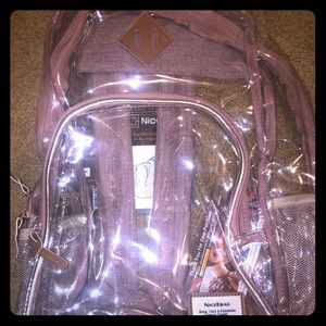 NiceEbag Clear Backpack
